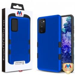 MyBat TUFF Subs Hybrid Case for Samsung Galaxy S20 Fan Edition - Titanium Dark Blue / Black