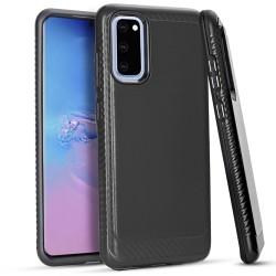 Brushed Case 3 Black Samsung S20 6.2