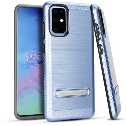 Metal Stand Brushed Case Dr. Blue Samsung S20 PLUS 6.7