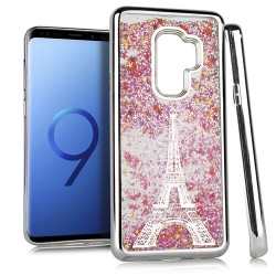 Chrome Glitter Motion Case for SAMSUNG GALAXY S9 PLUS #33S