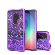 Liquid Quick Sands (Purple Hearts) for SAMSUNG GALAXY S9 PLUS
