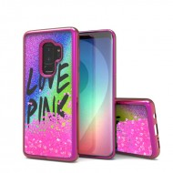 Liquid Quick Sands (Rainbow Love Pink) for SAMSUNG GALAXY S9 PLUS