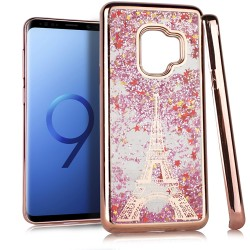 Chrome Glitter Motion Case for SAMSUNG GALAXY S9 #33RG