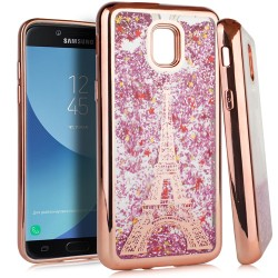 Chrome Glitter Motion Case for SAMSUNG J3 2018 #33RG