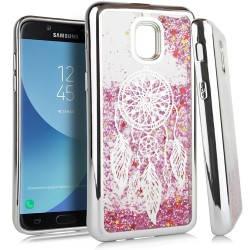 Chrome Glitter Motion Case for SAMSUNG J3 2018 #35S