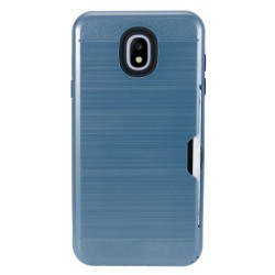 Brushed Metal Hybrid with Card Slot for SAMSUNG J3 2018