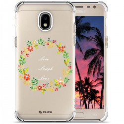 CLICK Elegant Series Slim with PC Metalic Bumper for Samsung Galaxy J7 2018