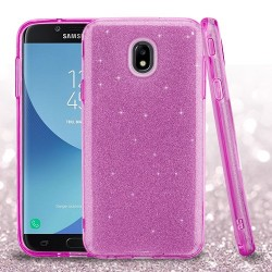 ASMYNA Purple Full Glitter Hybrid Protector Cover (with Package)