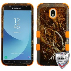 MYBATYellow/Black Vine/Orange TUFF Hybrid Phone Protector Cover [Military-Grade Certified](with Package)