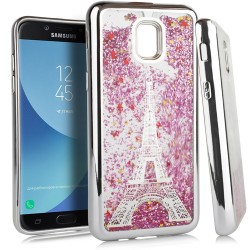 Chrome Glitter Motion Case for SAMSUNG J7 2018 #33S
