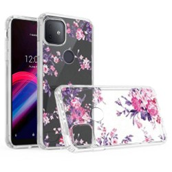 For Revvl 5G Design Transparent Hybrid Case - Enchanted Fantastic Design