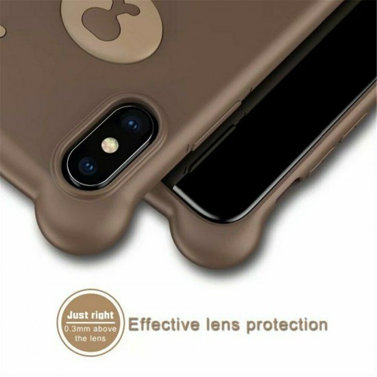 Wink Bear 3D Ultrathin Silicon Case with Hand Strap for iPhone 6/6S