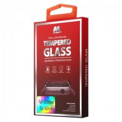 40mm MYBAT Full Adhesive Premium Tempered Glass Screen Protector/Black