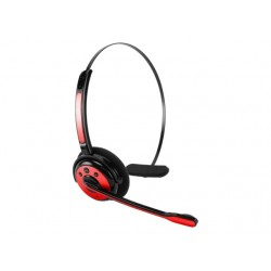 EBBOOM (RED) OVER-THE-HEAD-SPORT,STEREO,BLUETOOTH
