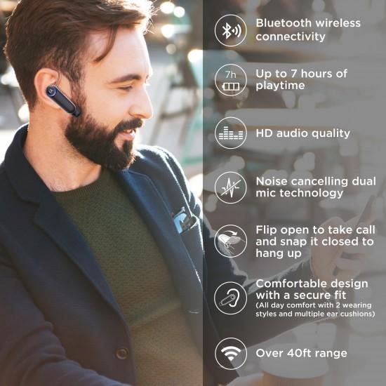 Motorola Boom 3 In-Ear Wireless Mono Headset - Black