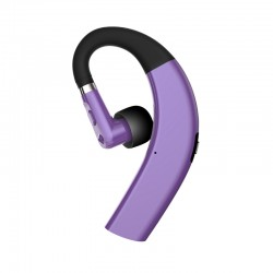 Sporty Bluetooth Earpieces with Microphone and Music 211S Purple