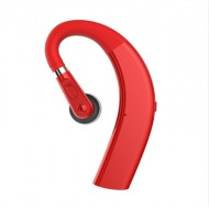 Sporty Bluetooth Earpieces with Microphone and Music 211S Red