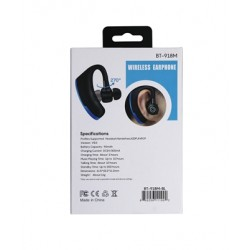Sporty Bluetooth Earpieces with Microphone and Music 918M BLUE