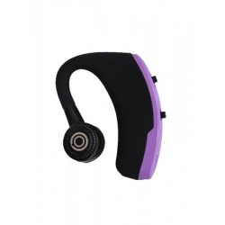Sporty Bluetooth Earpieces with Microphone and Music 918M PURPLE