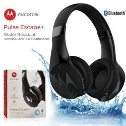 Motorola Pulse Escape+ Water Resistant Wireless Over-Ear Headphones - Black