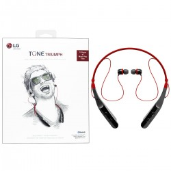 LG TONE TRIUMPH HBS 510 (BLACK-RED)  BLUETOOTH