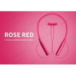 FB-K1 (ROSE RED) WIRELESS HEADSET BLUETOOTH