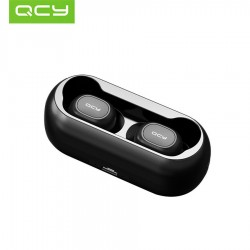 QCY T1 TWS EARPHONE BLUETOOTH 5.0 WIRELESS STEREO HEADSETS (BLACK)