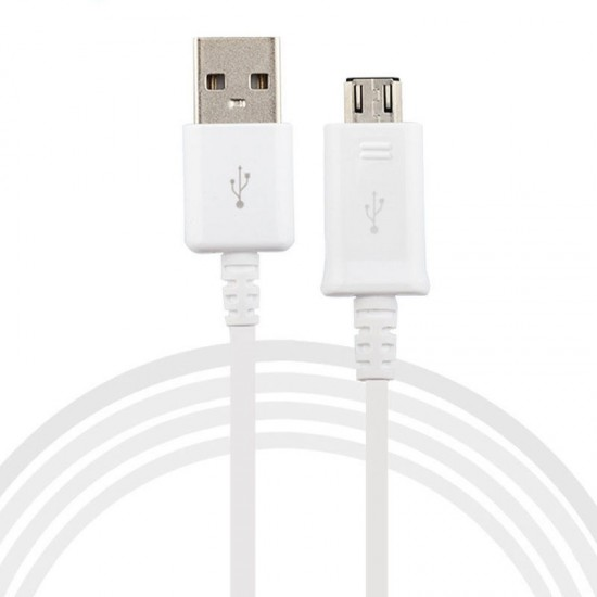 OEM SAMSUNG MICRO USB CABLE 5FT WHITE
