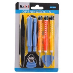 10 in 1 No.3688 Professional Repair Screwdriver Opening Pry Tools Disassembly Repair Kit Set For For Apple iPhone4 iPhone 4S iPad