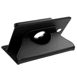 For Galaxy Tab A 8.0 (T350) - Black Premium Rotatable MyJacket (442) -NP