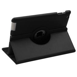For iPad 2/3/4 - Black Premium Rotatable MyJacket (442) (No Package)