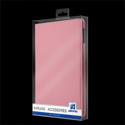 For iPad 2/3/4 - Pink Premium Rotatable MyJacket (444) (No Package)