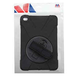 MYBAT Black/Black Rotatable Stand Protector Cover (with Wristband)