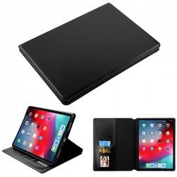 For iPad Pro 11 (2018) - MYBAT Black MyJacket Wallet(with Tray)(561) -WP