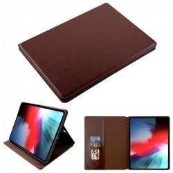 For iPad Pro 12.9 (2018) MYBAT Brown MyJacket Wallet(with Tray)(562) -NP