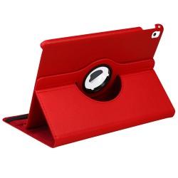 iPad-Pro-9-7 - A1673-A1674-A1675  MYBAT Red Premium Rotatable MyJacket (441) (No Package)