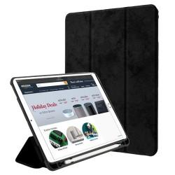 iPad-Pro-9-7 - A1673-A1674-A1675 - Black Premium MyJacket(with Stylus Holder)(PR901) -WP