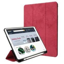 iPad-Pro-9-7 - A1673-A1674-A1675 - Red Premium MyJacket(with Stylus Holder)(PR901) -WP