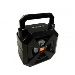 Portable Bluetooth Speaker with handle Loud Sound Heavy Bass Outdoor in Black