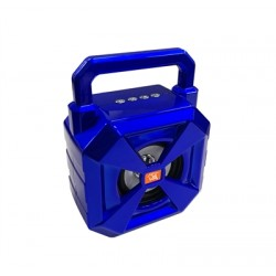 Portable Bluetooth Speaker with handle Loud Sound Heavy Bass Outdoor in Blue