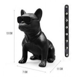 M12-DOG-SMALL SIZE BLUETOOTH WIRELESS SPEAKERS- BLACK