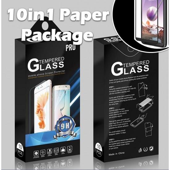 TEMPERED GLASS FOR SAMSUNG A10e(FULL EDGE 10 PACK)