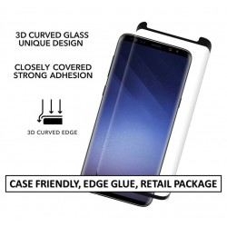 CURVED TEMPERED GLASS FOR SAMSUNG GALAXY S9 PLUS(SINGLE PACK)