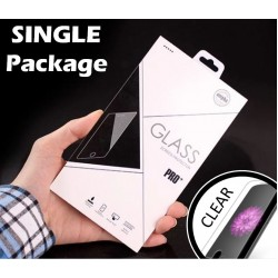 TEMPERED GLASS FOR APPLE IPHONE X/XS(CLEAR SINGLE PACK)